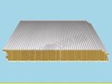 厂家生产批发夹心彩钢板 岩棉、玻璃丝棉防