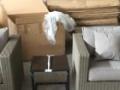 此沙发为全新样品仿藤休闲沙发 有多种组合 现特价