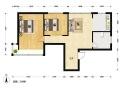 近4号线 2室2厅 南北通透 看房有钥匙 老房东独 家 委