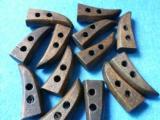 咖啡色牛角扣,木扣,木象牙扣