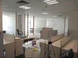 上海玻璃磨砂膜贴纸办公室窗户推拉移门窗贴膜办公区隔断私密膜