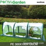 厂家生产直销欧美款 3米隧道花园防鸟网 室外阳光PE塑料大棚