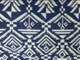 女装短裙服装面料 涤棉色织提花布料-几何图案 民族布 现货