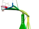 中海体育器材厂生产供应【平箱宽臂篮球架、