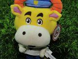 毛绒玩具厂EOM 玩具设计加工长动物狗 挂件牛