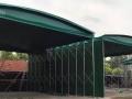 定做推拉雨棚移动伸缩折叠帐篷摆摊夜宵大排档帐篷汽车遮阳篷仓库