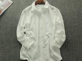 衬衫女长袖2015春夏新款衬衣修身通勤OL职业装白衬衫 女