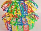 幼儿园桌面玩具编织积木拼插积编织手工益智积木早教益智儿童玩具