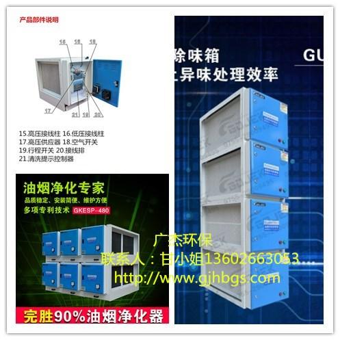 北京大兴低温等离子油烟净化器