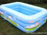 厂家直销 大型儿童 充气游泳水池  婴儿游泳池,2.1米三层水池