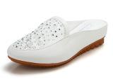 2014春夏季新款厚底坡跟拖鞋 女 凉拖水钻半拖鞋女包头沙滩鞋女