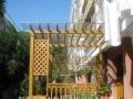 庭院绿化承接各种绿化工程木屋凉亭花架铺草种花树果树