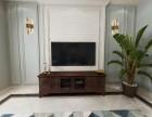 重庆别墅全案设计 欧朋泊雅湾 美式混搭风格装修设计