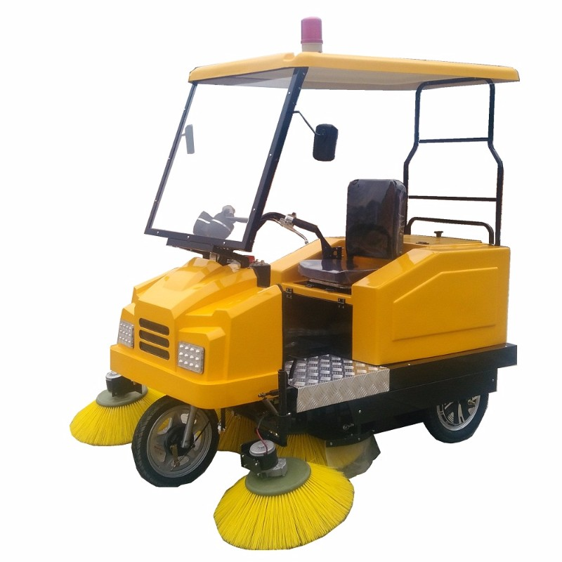 厂家直供电动扫路车电瓶清扫机驾驶式扫地车道路清扫车