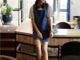 2014韩版妞子背带裙    欢迎淘宝加盟   一件代发  厂家