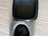 厂家直销带网孔蛋白质皮耳套 音乐耳机热压皮耳套价格