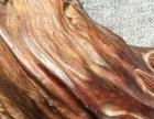 早期红木根雕观音像