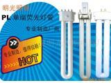 供应 插拔管 PL单端荧光灯 G23电子式 2G7直流灯管