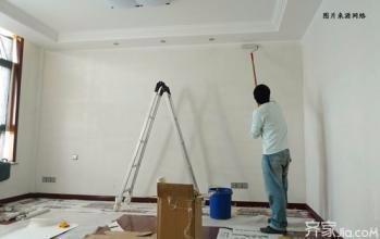 南开区专业刮腻子刷浆 墙面刷乳胶漆 墙面翻新 二手房刷新