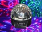 LED图案水晶魔球LED水晶魔球舞台灯光KTV酒吧灯舞厅旋转灯热销中