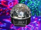 LED图案水晶魔球LED水晶魔球舞台灯光KTV酒吧灯舞厅旋转灯热