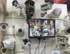 安装监控摄像头光纤熔可视楼宇门禁音响立式监控