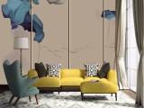 深圳无缝墙布厂家 3D背景墙壁画厂家 装饰壁纸定制