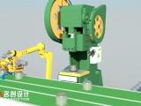 湘潭机械设备三维动画