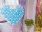 七夕情人节浪漫气球装饰,小丑泡泡秀表演