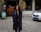 湖州较畅销韩版时尚潮款毛呢大衣超低价批发厂家直接供货