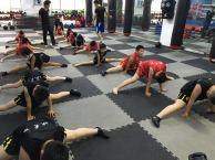 天津市少儿武术散打暑假培训班