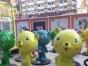 惠州专业厂家定做景观雕塑模型卡通动漫人偶形象出售