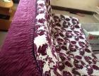 布艺沙发床一张,9成新,干净完好。现因出租房屋租期满,要