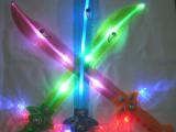 义乌厂家批发闪光玩具 闪光刀剑 led电子发光棒 海绵棒五星闪光