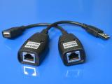 USB转RJ45网线延长器USB信号放大器USB50米延长线延长