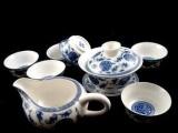 戴玉堂 茶具套装 8头盖五福小茶具套装茶
