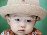 童帽外贸|韩版童帽|儿童帽批发|可爱小熊儿童太阳帽M889