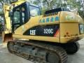 二手挖掘机卡特320C出售价格优惠手续齐全