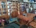 珠海出售全新 船木茶台 红木茶台 书柜架子 瓷板画 小摆件