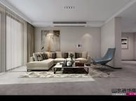 山水装饰公司设计师极简风格凯旋门140平三居室家装设计效果图