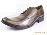 英伦翘鞋头系列系鞋带商务休闲男士皮鞋 外贸精品