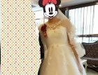 高腰孕妇婚纱M号都可以穿
