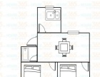 太宁路口美湖小区 青年路小学 两室两厅 地铁一号线精装无税