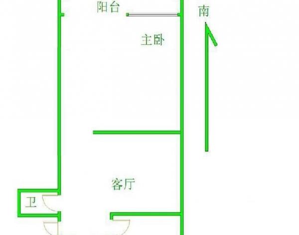 农科院附近皂君庙东里2居室1层带自建南北通透满五唯一