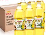 金龙鱼玉米油非转基因900ml*15瓶玉米胚芽油食用油植物油压榨