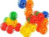 五彩童趣拼拼圈 塑料拼插装建构积木 大型雪花组装玩具 益智启蒙