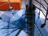 钢木楼梯中柱旋转楼梯北京钢木楼梯生产厂家