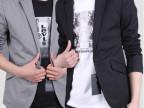 批发男装小西服男秋冬季新款韩版修身男西装休闲男式小西装大码潮