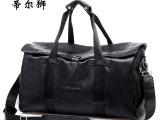 一件代发 大容量纯头层牛皮休闲手提大包 真皮旅行包单肩包斜跨包