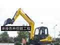 货车挖机出租开挖土石方